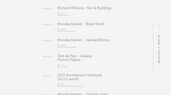 UCD School of Architecture - Timeline - 2014-04-11 00.48